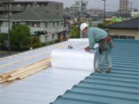 施工実績007 O建築 K様邸 リフレクティックス遮熱工法による屋根重ね葺き工事|三重県四日市市
