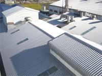 施工実績010 S(株)様工場屋根改修工事 ZeroD-Roof工法|三重県鈴鹿市