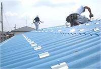 施工実績016 (有)W様邸 工場の屋根 ECO遮熱工法®|三重県四日市市