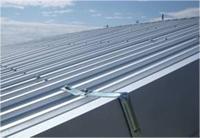 【アフター】 施工後はガルバニウム鋼板の屋根です。