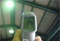 施工後の屋根裏温度は29.6℃でした