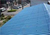 施工前のスレート屋根の写真です