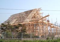 (1)建前の日にお邪魔してきました。この後からが私達伊藤鈑金の仕事!