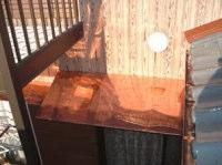 【アフター】 窓の上の小庇も銅板にて葺き替えました。
