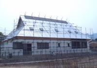 (7)屋根部分は無事完成です!