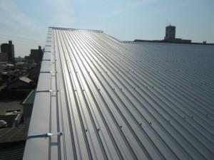 施工後の屋根写真です