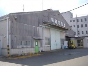 施工前工場を正面から見た外観写真です