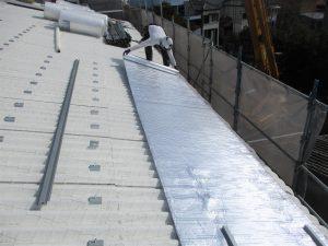 遮熱材リフレクティックスの施工
