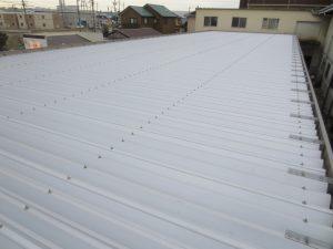 屋根工事完了しました