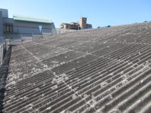 既存スレート屋根写真です