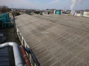 既存の屋根はスレート屋根でした