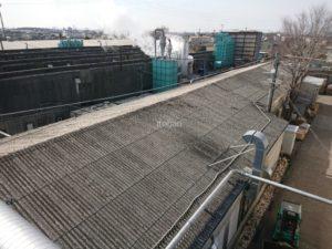 既存の切妻屋根もスレート屋根でした