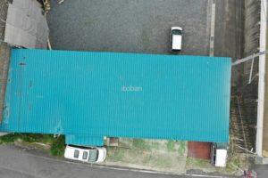 陸屋根の既存は折板屋根でした
