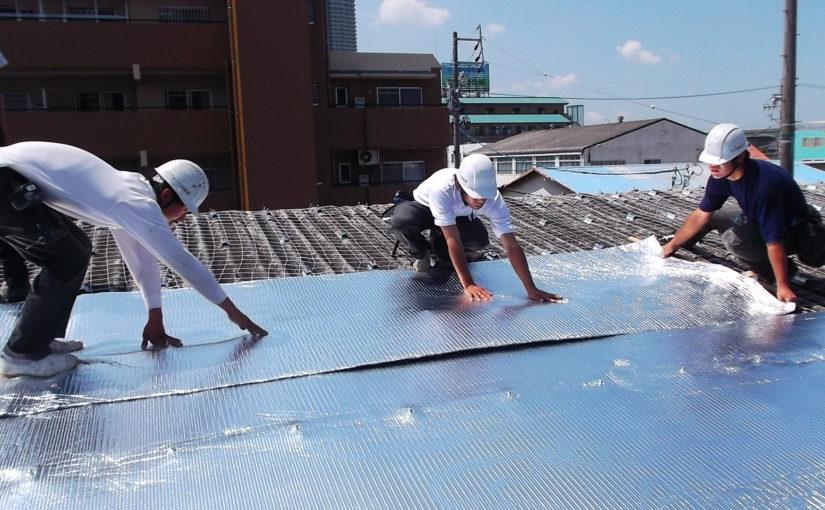 真夏は休工の暑さ対策工事《コスト削減のため、涼しい時に工事をさせてください!》