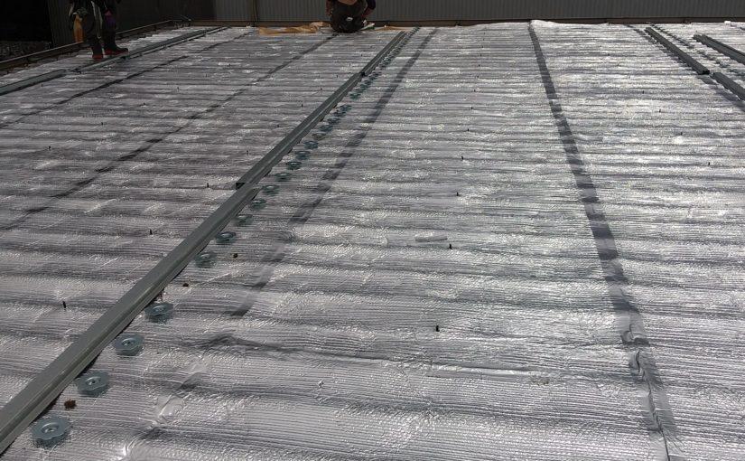 [ブログ]事務所棟のECO遮熱Ⓡ工事着工|三重県津市