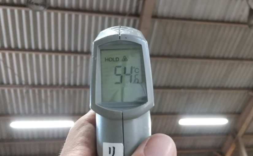 [ブログ]三重県伊勢市の倉庫にて、暑さ対策工事のご相談|ECO遮熱工法Ⓡ