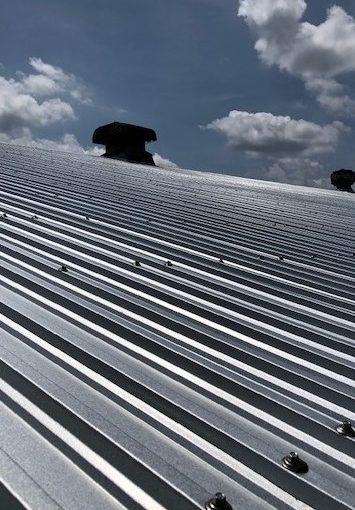 施工実績033 アルミ加工工場「夏の暑さ・熱中症対策」(ECO遮熱工法Ⓡ)| 滋賀県