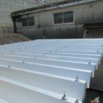 施工実績034 プレハブ休憩所屋根の暑さ対策工事 -ECO遮熱工法Ⓡ-| 三重県四日市市