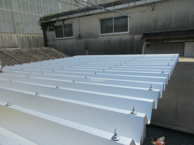 プレハブ屋根の暑さ対策工事施工事例を更新しました!|三重県四日市市