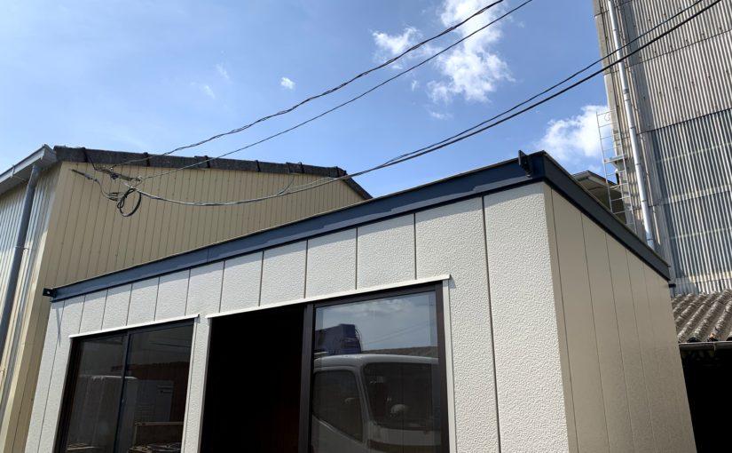 [ブログ]プレハブ休憩所をECO遮熱Ⓡ工事で快適に!|三重県四日市市