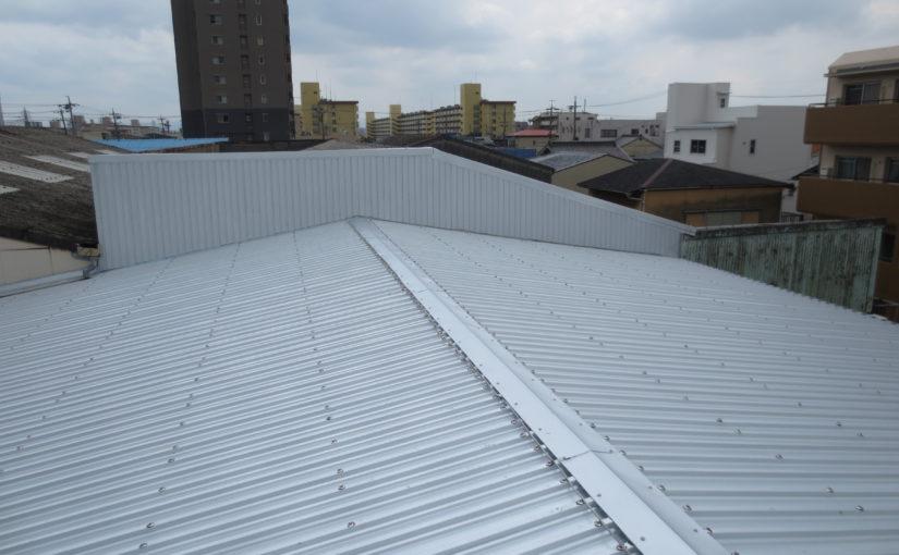 [ブログ]金属加工工場の暑さ対策、無事完工しました|愛知県名古屋市