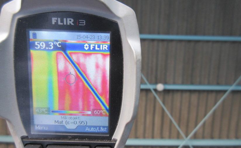 [ブログ]暑さ対策工事中の屋根裏面温度の比較|愛知県名古屋市