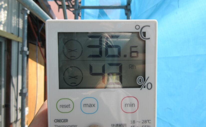 気温がグングン上昇!奈良県の暑さ対策の現場進行中